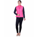 Women Quilted Reversible Jacket