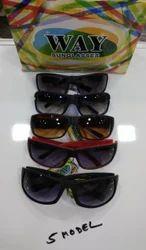 Full Rim Plastic Sunglasses