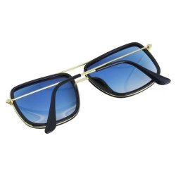 Blue Square Type Sunglasses for Mens and Womens