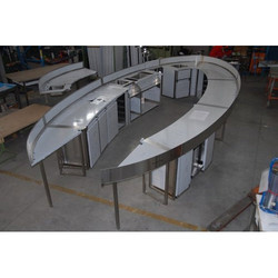 U Shape SS Bar Counter