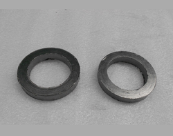 Pure Flexible Graphite Gasket Packing Rings for Commercial & Industrial, Max Temperature: 950 deg F