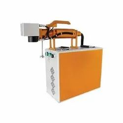 DI-283A Portable Hand Held Fiber Laser Marking Machine
