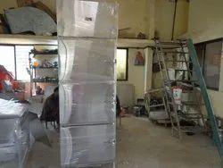 Number Of Doors: Three Door Stainless Steel Vertical Refrigerator, +0 To +8 Degree C