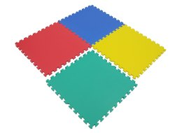 Multicolor Flooring Mats (SET OF 4)-1 FP-508