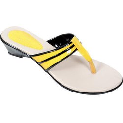 Casual Wear Ladies Plain PU Slipper