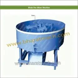 Ms Steel Sky Blue Blade Pan Mixer