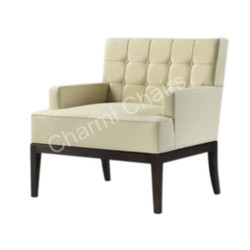 Charmi Beige Single Seater Sofa, Seating Capacity: 1
