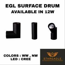 LED COB Spot Drum Fitting