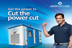 Silent or Soundproof Air Cooling Ashok Leyland Gensets 5KVA to 2250KVA