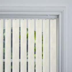 White PVC Vertical Window Blinds