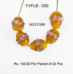 Lampwork Fancy Glass Beads - YVFLB-030