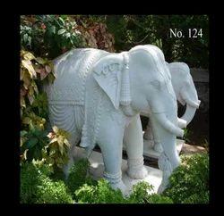 Marble Elephant Statue in Mumbai, मार्बल की हाथी की