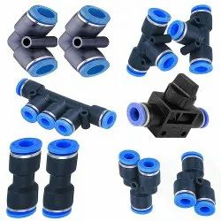 Plastic Pneumatic & Hydraulics Fittings for Mould Application & Machines
