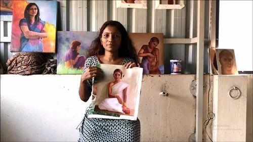 Drawing Classes in Vadapalani, Chennai - Portrait painting