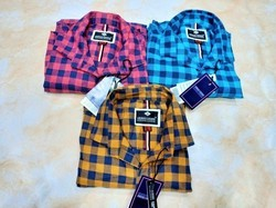 Mens Cotton Check Shirts, Size: M, L and XL