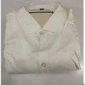 Mens White Plain Shirts