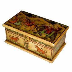 Bone Painted Box
