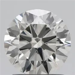 1.24ct Lab Grown Diamond CVD I VS2 Round Brilliant Cut HRD Certified Stone
