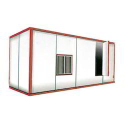 Rectangular MS Portable Office Cabin