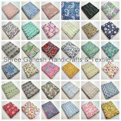 Block Print Fabric, GSM: 50-100