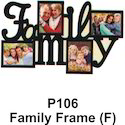 Family Frame F (p-106)