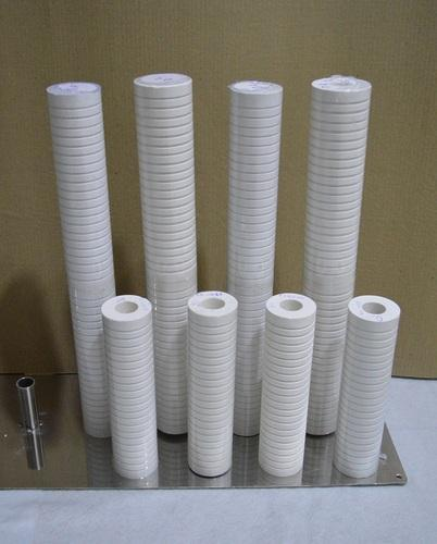 White Cellulose Resin Bonded Filter Cartridge