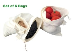 Eco Friendly Sustainable Cotton Gift Bags