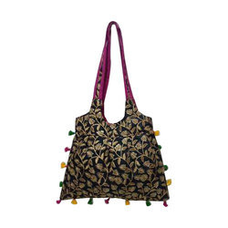 Multicolor Embroidery Fancy Handmade Tote Bag