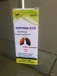 Cufpure-AYD Anti Allergic Cough Expectorant