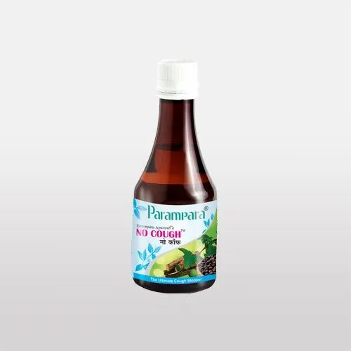 Plastic Bottle Parampara Cold and Cough Labonya Liquid, Bottle Size: 200 ml
