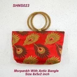 Broket Handle Bag