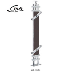 Stainless Steel Wooden Rectangle Baluster