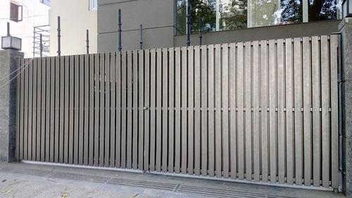 Fabrication Works Amp Service Stainless Steel Sliding Gate