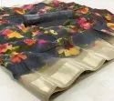 Ligalz Presents New Tangil Silk Saree With Blouse