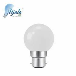 Round Polycarbonate 0.5 W White LED Bulb, 0.5W