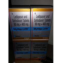 Ledipasvir And Sofosbuvir Tablets 90mg   400mg