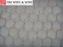 Mild Steel Hexagonal Wire Mesh, Thickness: 6-12 Mm