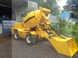 Diesel Engine Self loader concrete mixer BT 3500, for Construction