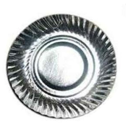 10 Inch Silver Disposable Paper Plate  sc 1 st  IndiaMART & Silver Disposable Plates - Silver Foil Laminated Paper Plates ...