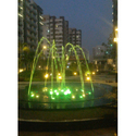 Rgb Colour Changing Outdoor Musical Programmable Fountain, For Outdoor