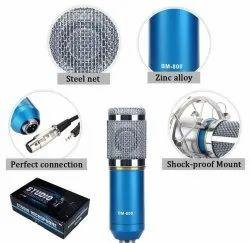 Techtest Condenser Microphone, Model: BM800