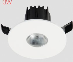 Havells Cool Daylight Round Adore LED 3 W Deep Spot 3 K Light