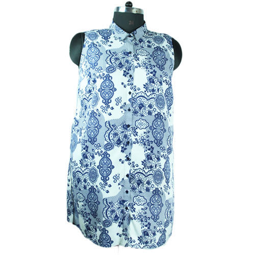 Printed Women' s Top, All Colour