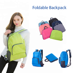 GiftExw Polyester Foldable Backpack