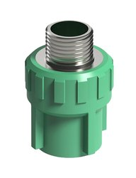 Plastic PPR Male Threaded Socket