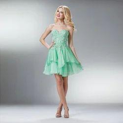 Organic Ladies Fancy Short Dress