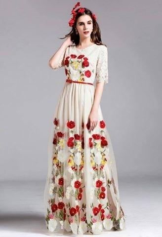 164bd6b90f Beautiful Indian Designer Off White Anarkali Salwar Suit at Rs 1499 ...