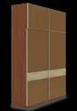 Cubit Homes 4 Shelves Wardrobe Reflection Series, Warranty: 3 Year
