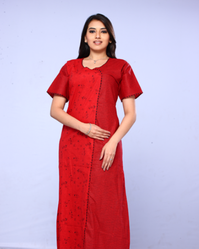 Red Women Gown