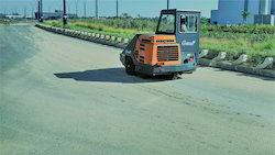 Automated Ride On Road Sweeping Machine